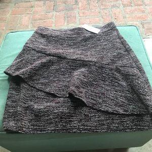 Ann Taylor LOFT Ruffle Skirt, Size: XS